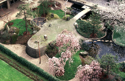 Noguchi isamu 1904 1988 fountain of peace and japanese for Jardin unesco